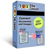 Batch Convert Images with 123FileConvert screenshot